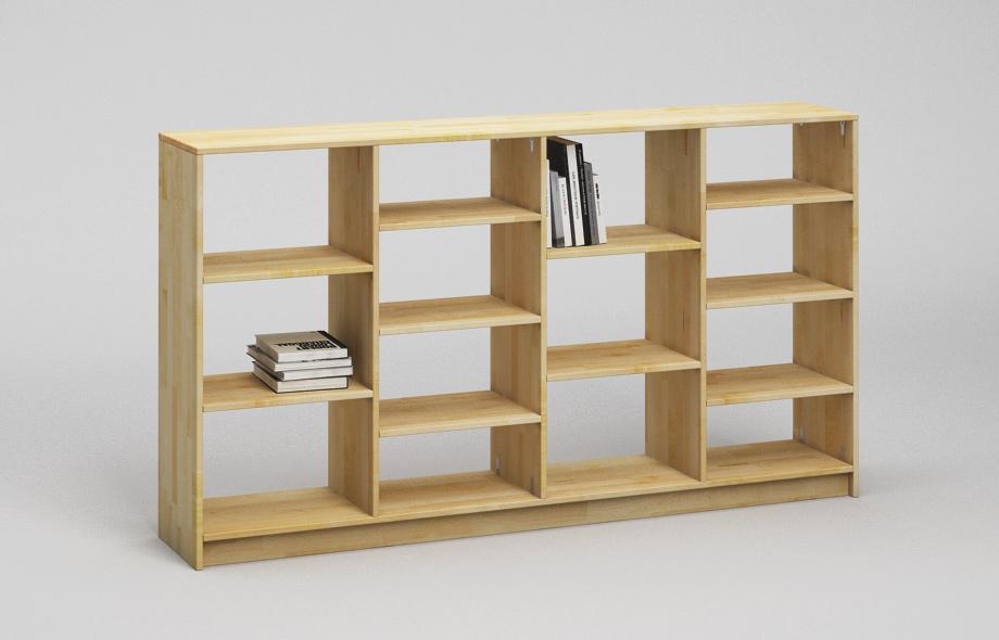 r202 regal aus ahorn massivholz von frohraum. Black Bedroom Furniture Sets. Home Design Ideas