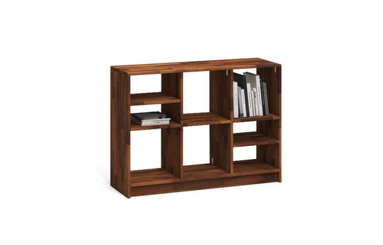 r206 regal aus nussbaum massiv von frohraum. Black Bedroom Furniture Sets. Home Design Ideas