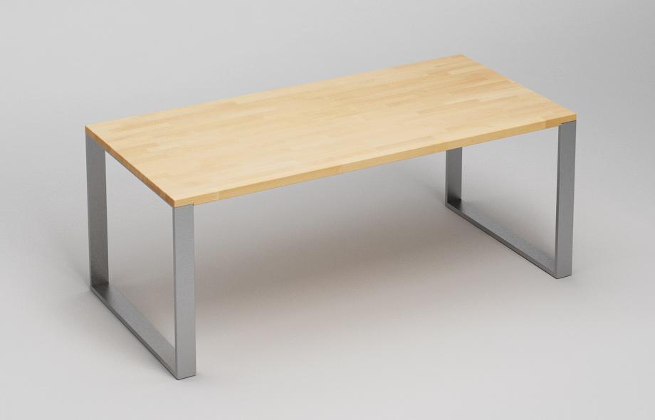 et39 esstisch aus massivholz von frohraum. Black Bedroom Furniture Sets. Home Design Ideas
