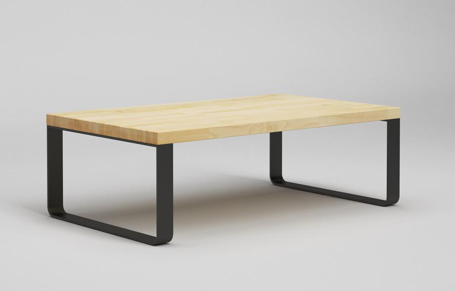 ct39 couchtisch aus ahorn massiv von frohraum. Black Bedroom Furniture Sets. Home Design Ideas