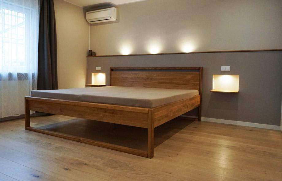massivholzbett nach ma in 7 holzarten frohraum. Black Bedroom Furniture Sets. Home Design Ideas