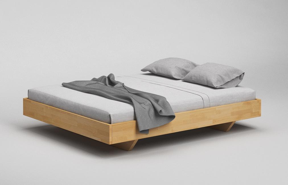 b33 minimalistisches bett aus massivholz von frohraum. Black Bedroom Furniture Sets. Home Design Ideas