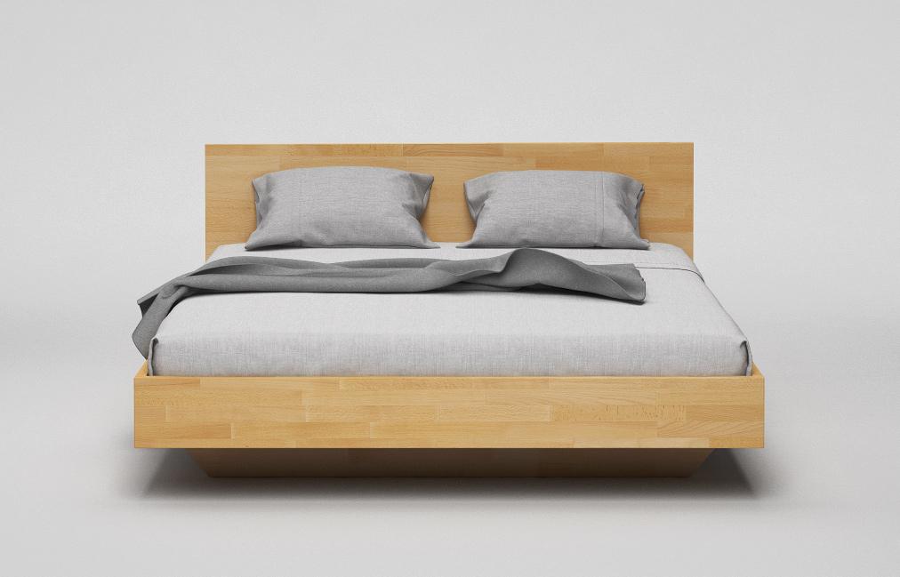 b34 bett mit kopfteil aus massivholz von frohraum. Black Bedroom Furniture Sets. Home Design Ideas