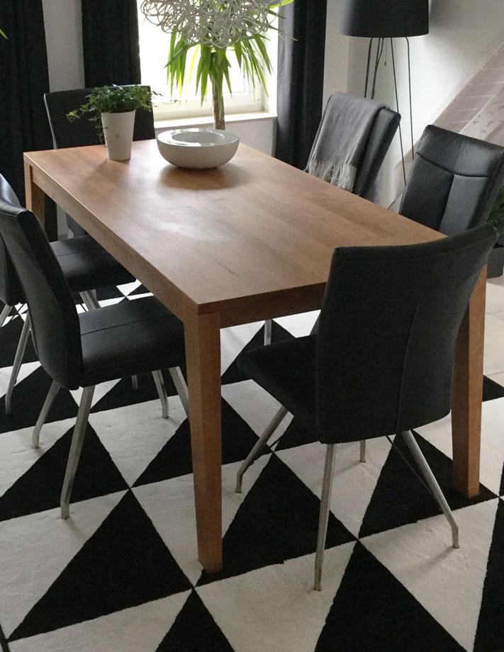 et110 esstisch aus kirschbaum massiv von frohraum. Black Bedroom Furniture Sets. Home Design Ideas