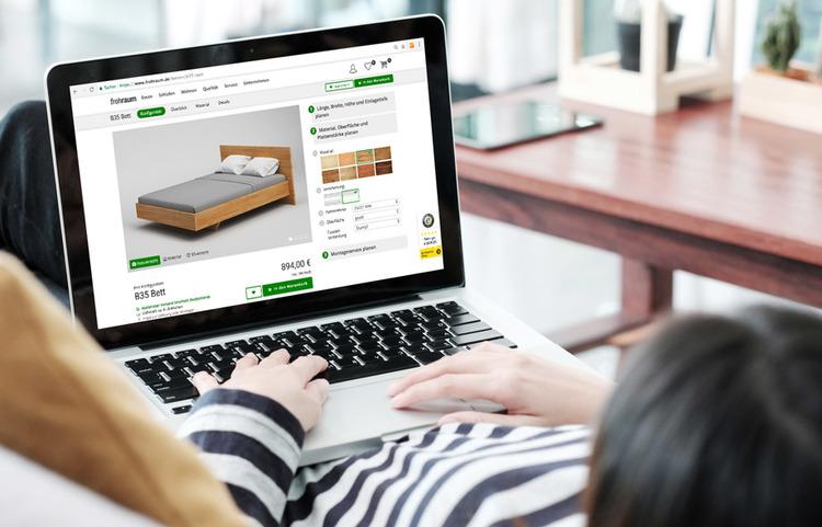 In wenigen Schritten: Bett online bestellen
