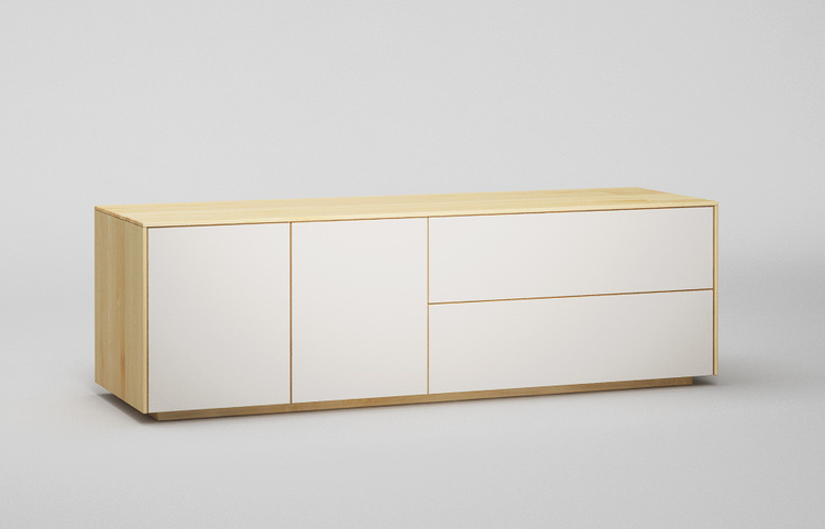 Lowboard-l503-farbglas-ral9010-a1-ahorn-dgl