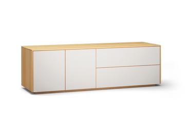 Lowboard-l503-farbglas-ral9010-a1w-buche-dgl