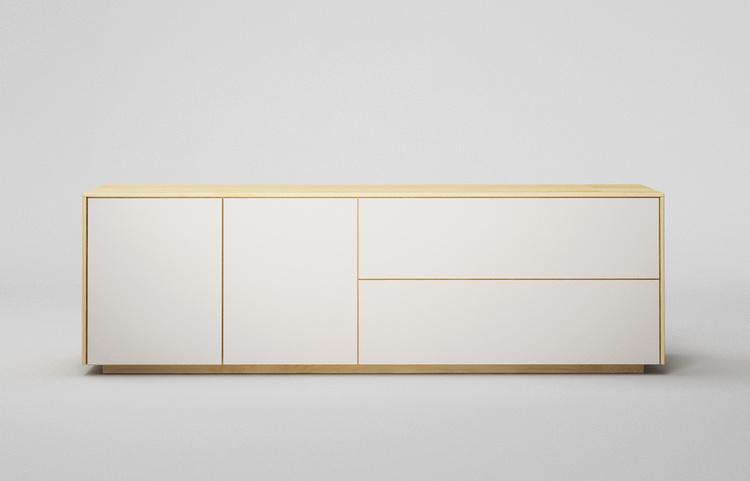 Lowboard-l503-farbglas-ral9010a-a2-ahorn-dgl