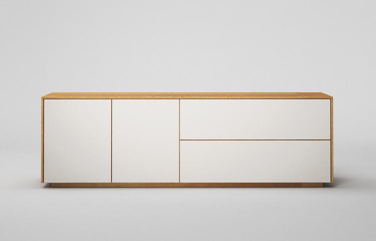 Lowboard-l503-farbglas-ral9010a-a2-eiche-dgl
