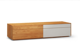Lowboard-l502-farbglas-ral9010-a1w-kirschbaum-dgl