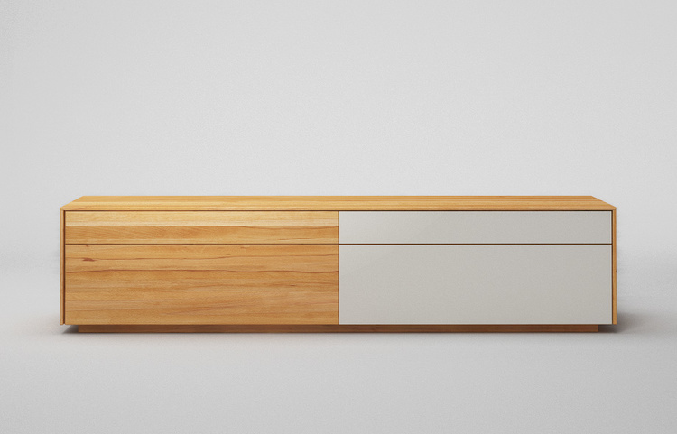 Lowboard-l502-farbglas-ral9010-a2-kernbuche-dgl