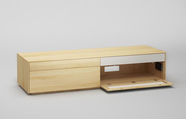 Lowboard-l502-farbglas-ral9010-a3-ahorn-dgl