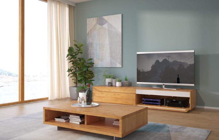 Tv Lowboards Aus Massivholz Wertig Langlebig Frohraum