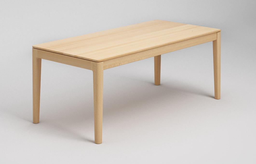 Et134 Esstisch Mit Abgerundeten Ecken Und Tischplatte Von Frohraum