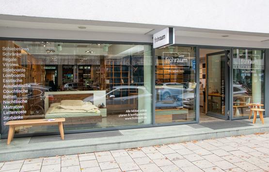 München Außenansicht Laden