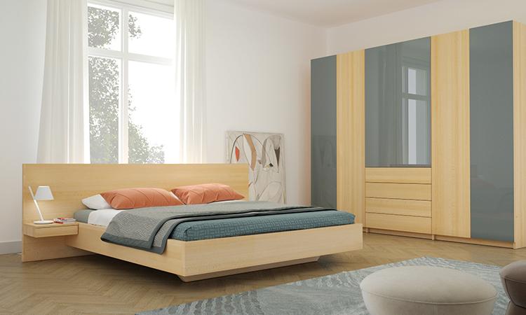 Schlafzimmer Massivholzmöbel nach Maß | Frohraum
