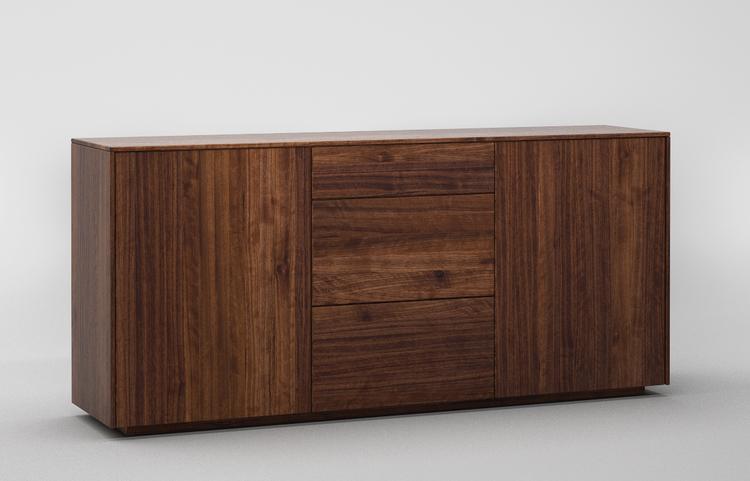 sideboard S503 a1 nussbaum dgl