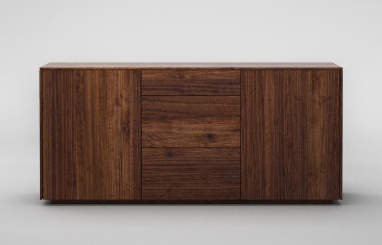 sideboard S503 a2 nussbaum dgl