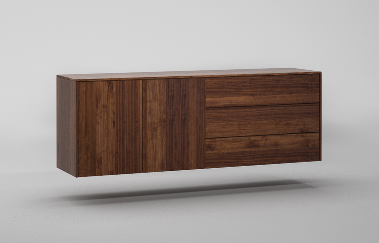 sideboard haengend SH503 a1 nussbaum dgl