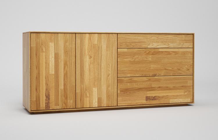 s603 sideboard k1 a3 eiche kgl