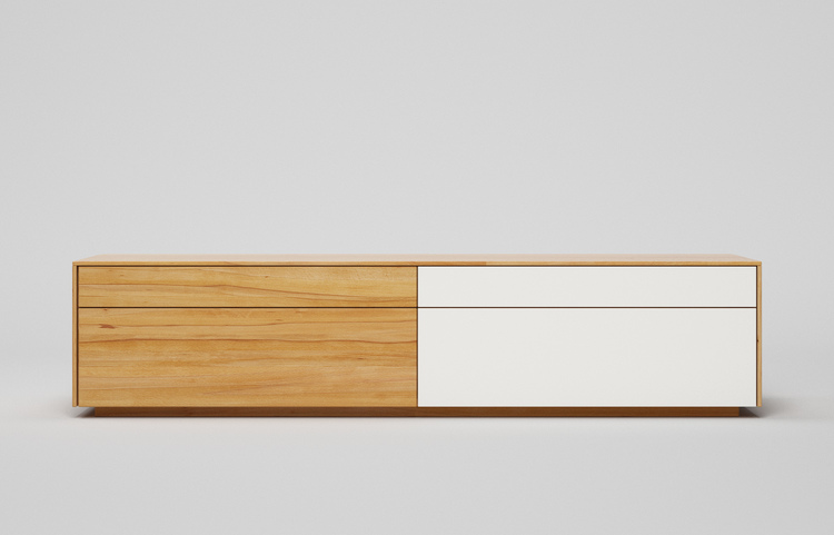 l502g lowboard reinweiß a2 kernbuche dgl