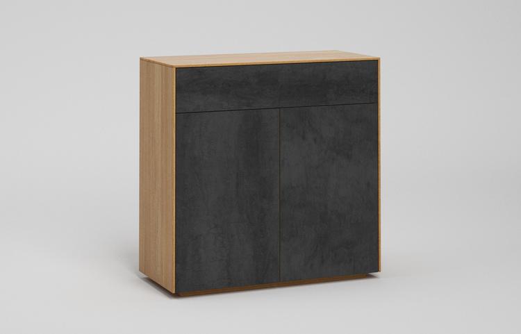 s501g k2 sideboard pietra di savoia antracite a1 eiche dgl