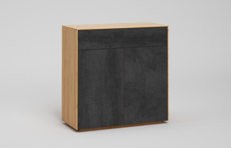 s501g k2 sideboard pietra di savoia antracite a1 kernbuche dgl