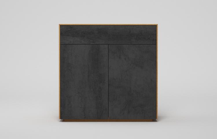 s501g k2 sideboard pietra di savoia antracite a2 eiche dgl