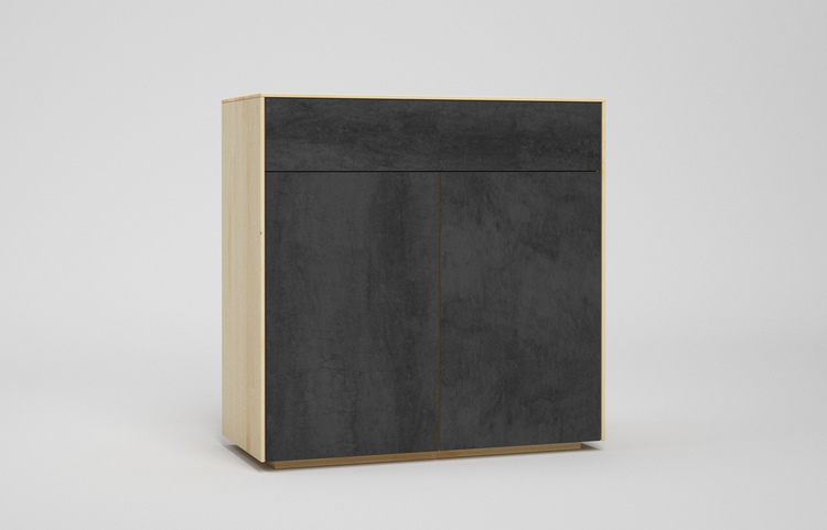 s501g k2 sideboard pietra di savoia antracite a3 ahorn dgl