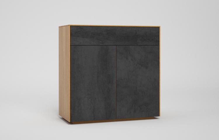 s501g k2 sideboard pietra di savoia antracite a3 eiche dgl