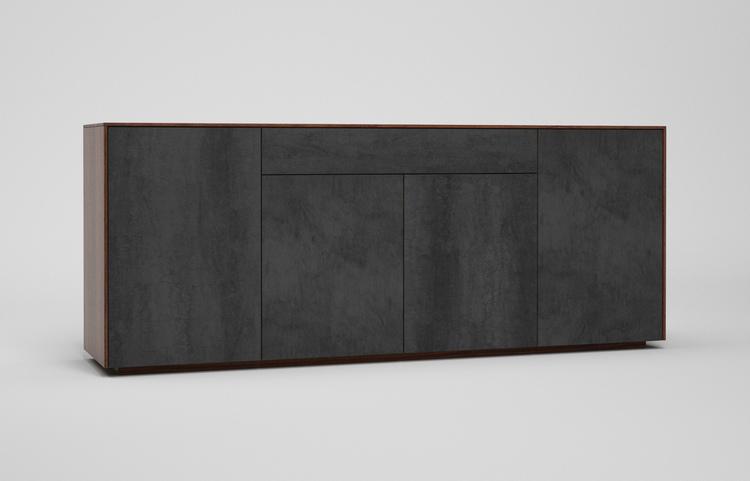 s503g k2 sideboard savoia antracite a3 nussbaum dgl