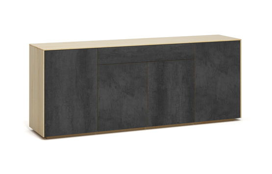 s503g k2 sideboard savoia antracite a1w ahorn dgl