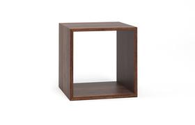cube wuerfelregal 18 a1w nussbaum dgl