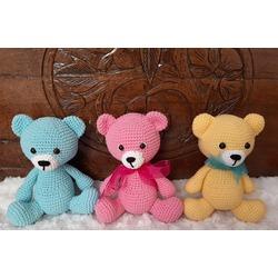 Amigurumi Crochet Teddy Bear (Sevimli Ayı) Pattern Yapılışı | 250x250