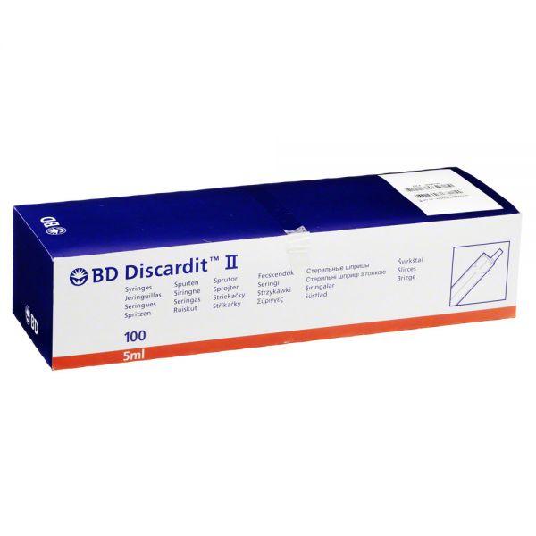 Bd Discardit Ii Spritze 5 ml 100X5 Stück