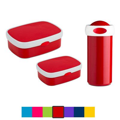 Boîtes à tartines, boîte à fruits et gourde Mepal personnalisées