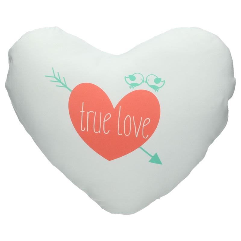 Gepersonaliseerd kussen - hart