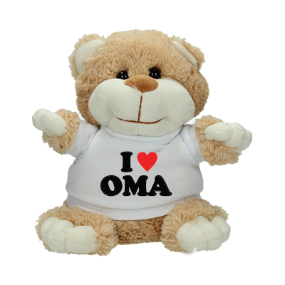 Peluche 'I love Oma'