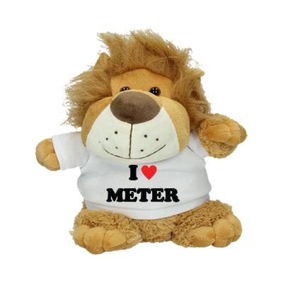 Peluche 'I love meter'