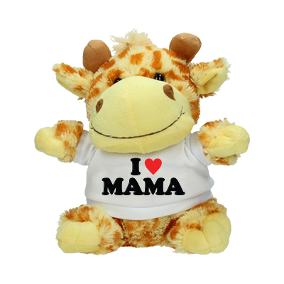 Stuffed animal - I love Mama