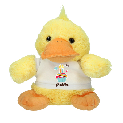Cuddle toy with name - second birthday