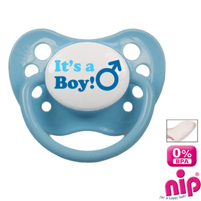 Pacifier 'It's a boy'