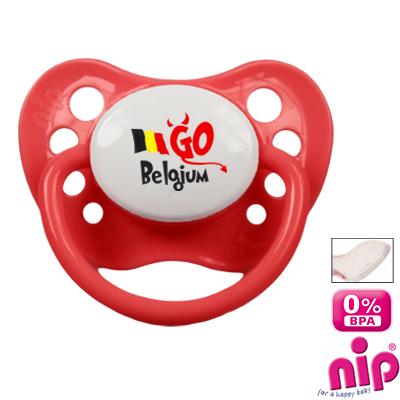 Tétine 'Go Belgium'