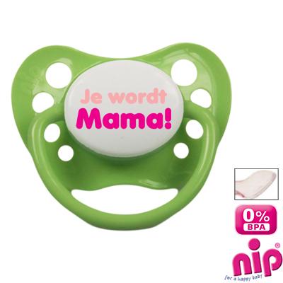 Fopspeen 'Je wordt mama!'