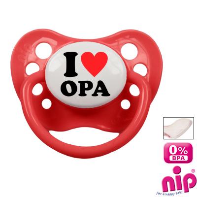 Fopspeen 'I Love Opa'