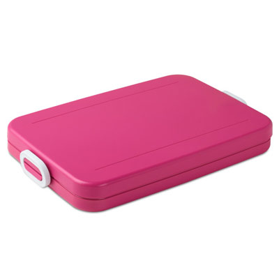 Mepal Lunchbox Take A Break Flat - Fuchsia (roze)