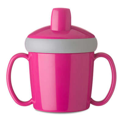 mug d'apprentissage anti-goutte 200 ml - Fuchsia