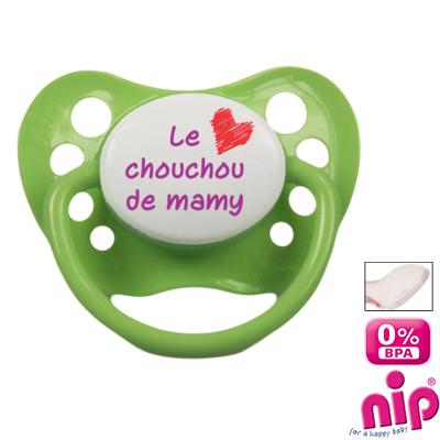 Tétine 'Le chouchou de mamy'