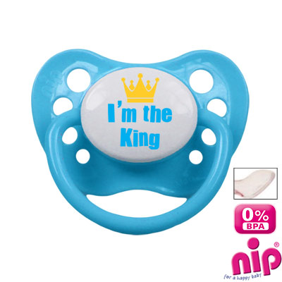 Fopspeen 'I'm the King'