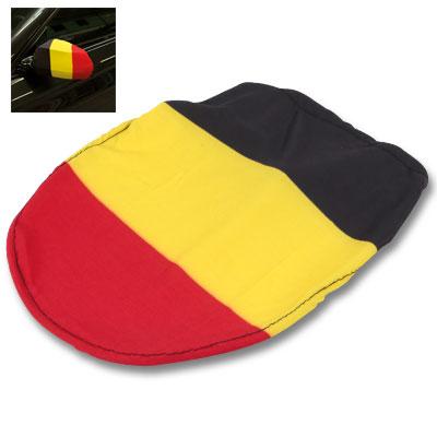 Spiegelhoes zwart-geel-rood